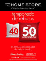 Ofertas de The Home Store, Temporada de rebajas