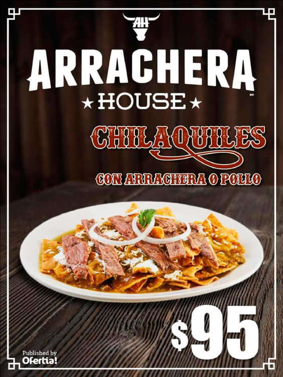 Ofertas de Arrachera House, Nuevos chilaquiles