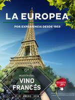 Ofertas de La Europea, 6a muestra del vino francés
