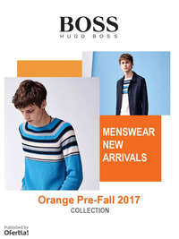 Boss Orange Prefall Man
