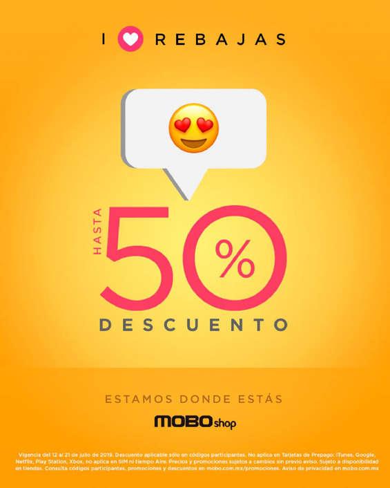 Ofertas de Mobo, Aniversario MOBO… Hasta 50% de descuento