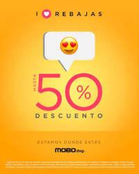 Aniversario MOBO… Hasta 50% de descuento