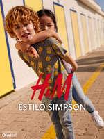 Ofertas de H&M, Estilo Simpson