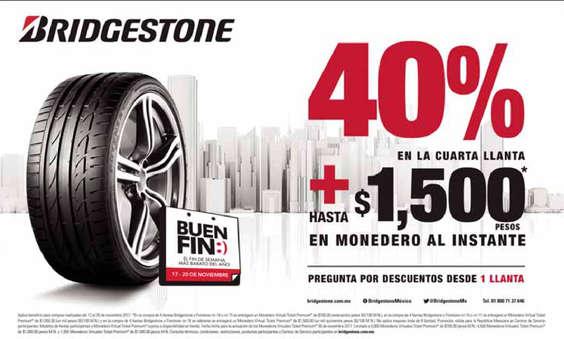 Ofertas de Bridgestone, Bridgestone