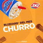 Ofertas de Dairy Queen, Blizzard del mes - Churro