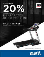 Ofertas de Marti, Ready to train