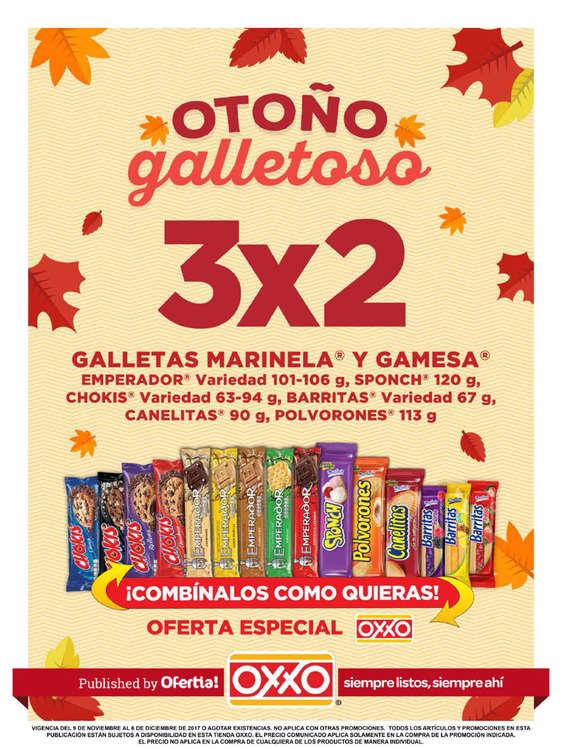 Ofertas de OXXO, Otoño Galletoso - MONTERREY 2