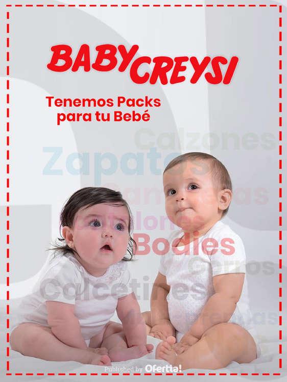 Ofertas de Baby Creysi, Packs para tu bebé