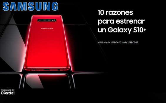 Ofertas de Samsung, 10 razones para estrenar un Galaxy S10+