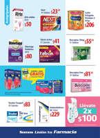 Ofertas de Farmacias Unión, Folleto mensual