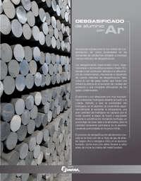 Desgasificado de aluminio con ar