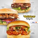 Ofertas de Buffalucas, Buffalucas burgers