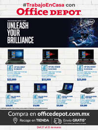 #TrabajoEnCasa con Office Depot Intel