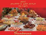Ofertas de Sanborns, Cena de Navidad y Año Nuevo