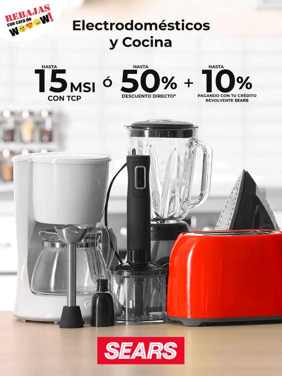 Ofertas de Sears, Electrodomésticos y Cocina