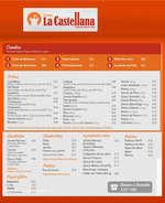 Ofertas de Tortas La Castellana, Menú Centro Comercial Santa Fe