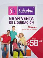 Ofertas de Suburbia, Gran venta de Liquidación - Playeras