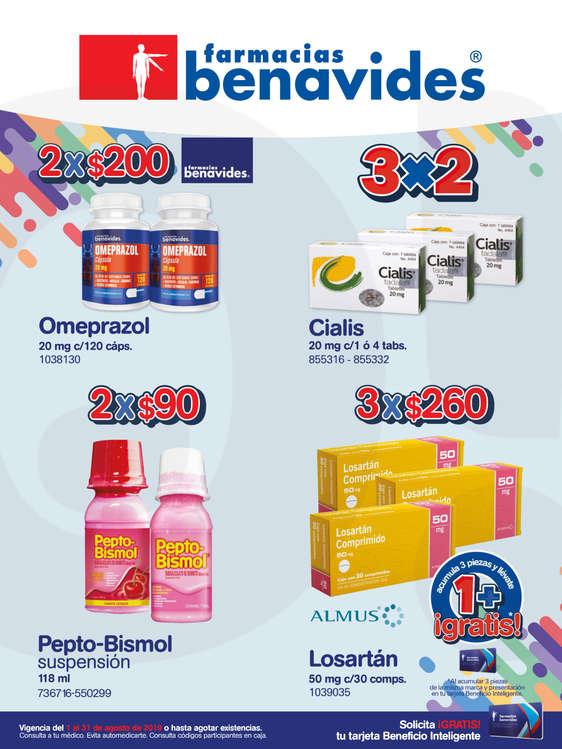 Ofertas de Farmacias Benavides, Farmacias Benavides Agosto - Web