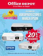 Ofertas de Office Depot, Summer SALE - Videoproyectores EPSON