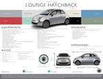 Ofertas de Fiat, 500 lounge hatchback 2017