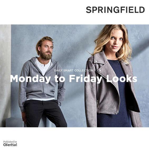 Ofertas de Springfield, Monday to Friday
