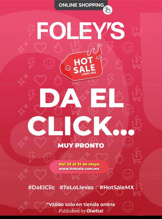 Ofertas de FOLEY'S, HotSale