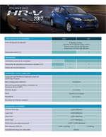 Ofertas de Honda, HR-V 2017