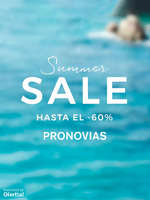 Ofertas de Pronovias, Summer Sale