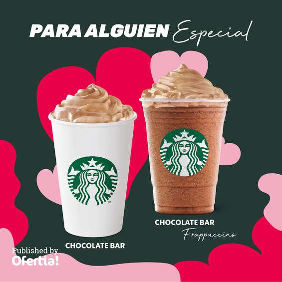 Ofertas de Starbucks, Chocolate bar