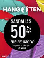 Ofertas de Hang Ten, Rebajas en Sandalias 50% Descuento