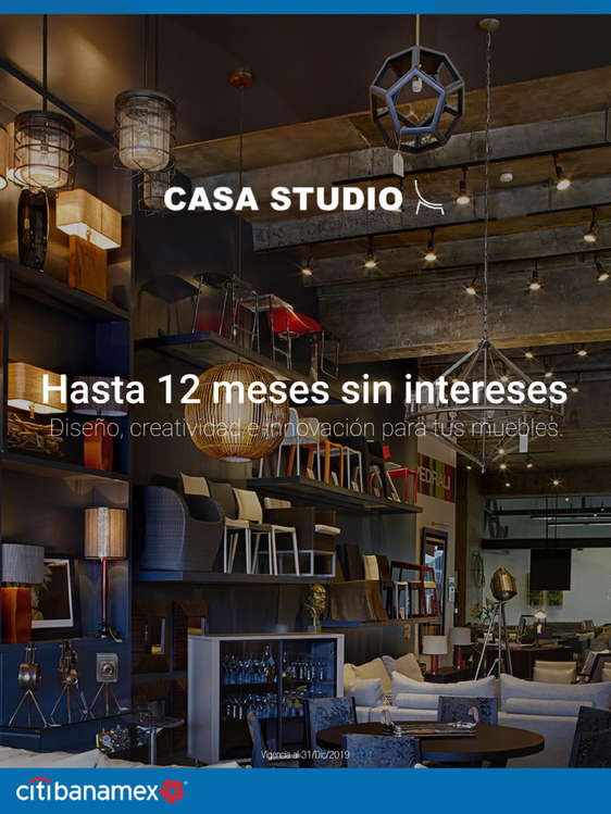 Ofertas de Citibanamex, Casa Studio - Hasta 12MSI