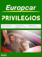 Ofertas de Europcar, Privilegios Europcar