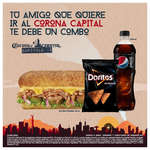 Ofertas de Subway, Combo Corona