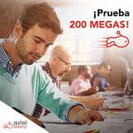 Ofertas de Axtel, 200 megas