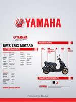 Ofertas de Yamaha, BW's 125X MOTARD