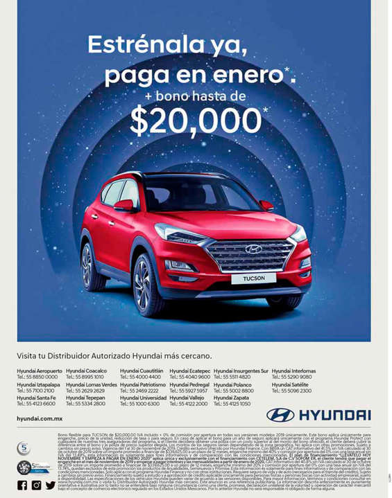 Ofertas de Hyundai, Estrénala ya