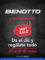 Ofertas de Benotto, Próximamente Hot Sale